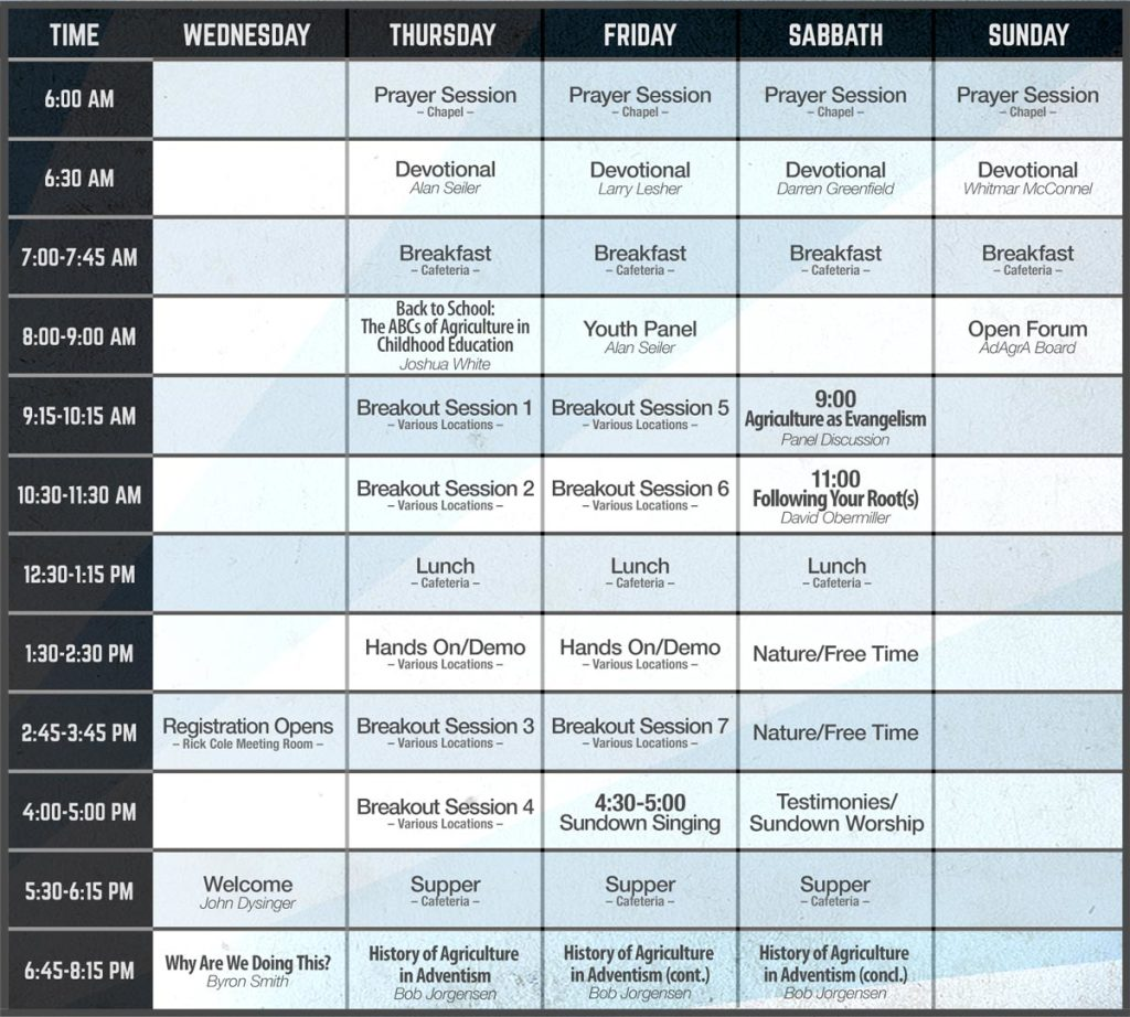 Adventist-Agricultural-Associations-2014-Schedule