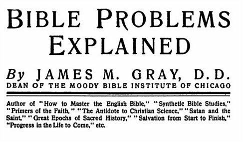 bibleproblemsexplained