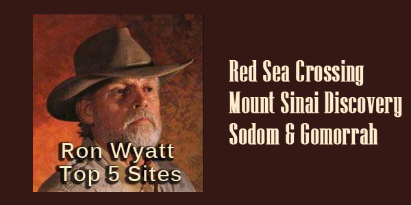 Top 5 Websites for Ron Wyatt Discoveries