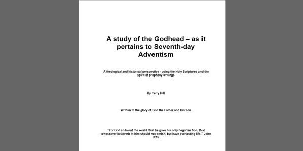 Book Review: A study of the Godhead – as it pertains to Seventh-day Adventism