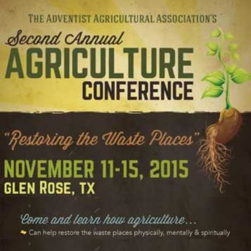 Adventist Agricultural Association – Towards an Agrarian Lifestyle