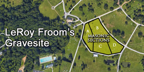 LeRoy Froom's Freemason Grave Site and Jesuit Connection