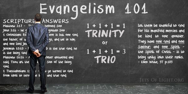 The SDA Trinity Doctrine In Ellen White's Book Evangelism