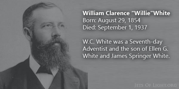 Ellen's Son W.C. White Answers Question About Holy Spirit