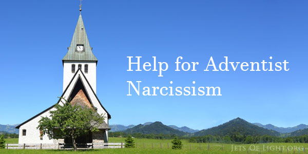 Adventist help for Narcissism with a picture of a country church