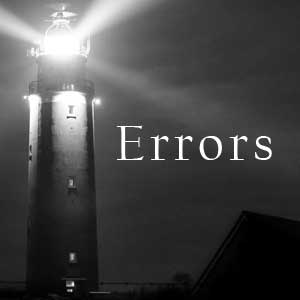 The Errors of Professed Christians are a Beacon Light to Warn Others